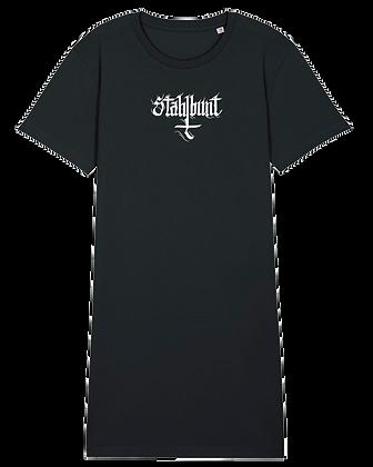Stahlbunt T-SHIRT-KLEID - Kruzifix