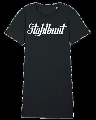 Stahlbunt T-SHIRT-KLEID - klassik