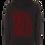 Thumbnail: Stahlbunt Zipper - script red