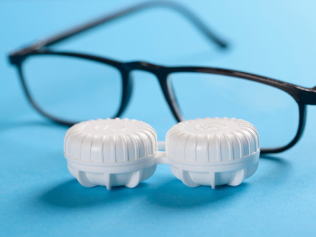 Does Your Eyewear Wardrobe Include Contacts & Relief Glasses?