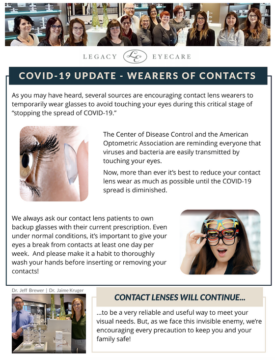 Wearers of Contacts
