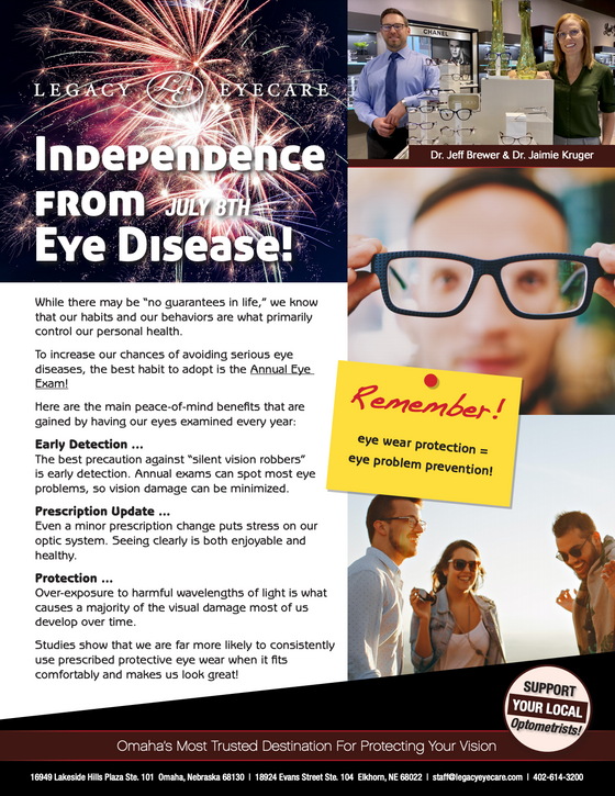 Independence From Eye Disease!
