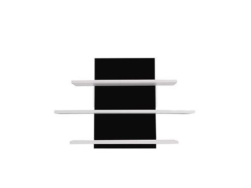 Półka wisząca LED black&white