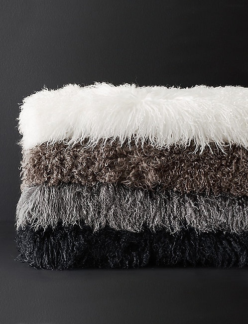 Tibetan Wool Throw