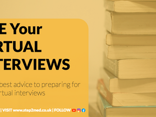 VIRTUAL INTERVIEWS? Here's everything you need to know!