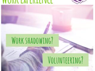 Work Shadowing vs Volunteering?