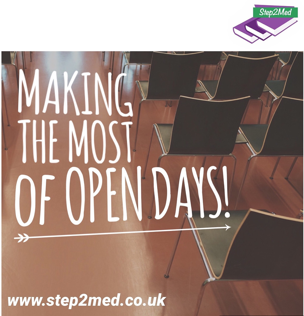 Making the most of Open Days