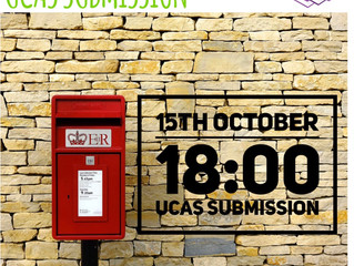 UCAS Submission is Almost Here!