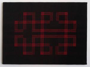 Black Meander Red