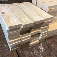 Cutting wood for frames