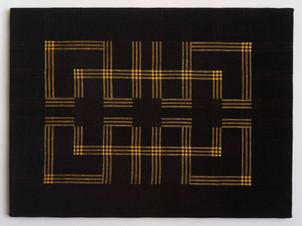 Black Meander Gold