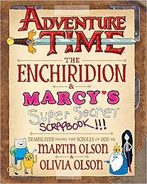Martin Olson's The Enchiridion & Marcy's SUper Secret Scrapbook.