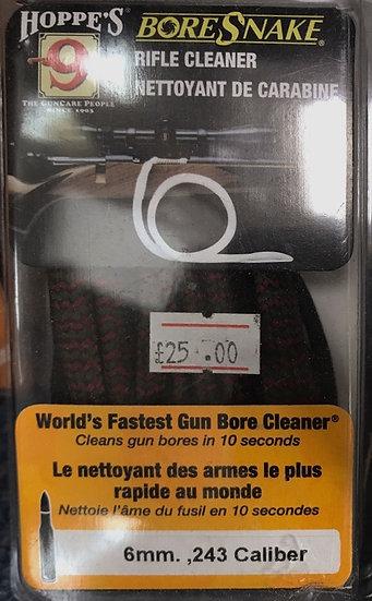 Hoppe's 9 BoreSnake 6mm .243 Rifle Cleaner