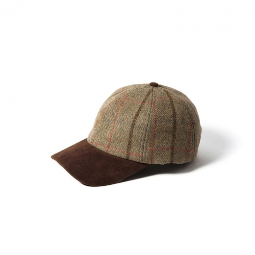 Failsworth Harris Tweed Gamekeeper Baseball Cap - Onesize