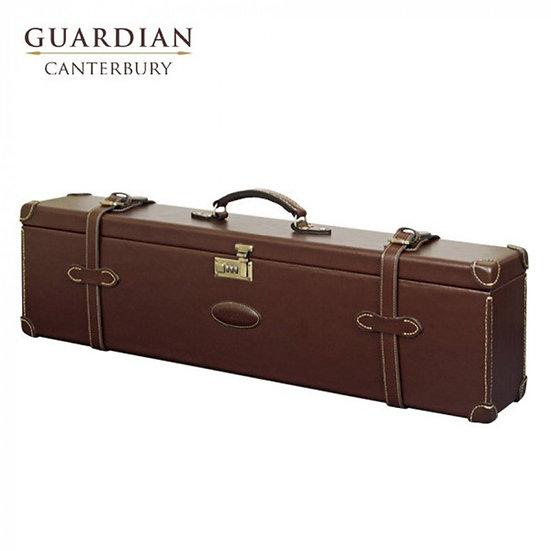 Guardian Canterbury Leather Motor Double Shotgun Case