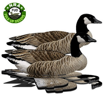 FUD Lesser Canadian Canada Goose Fold Up Decoys 6 pack