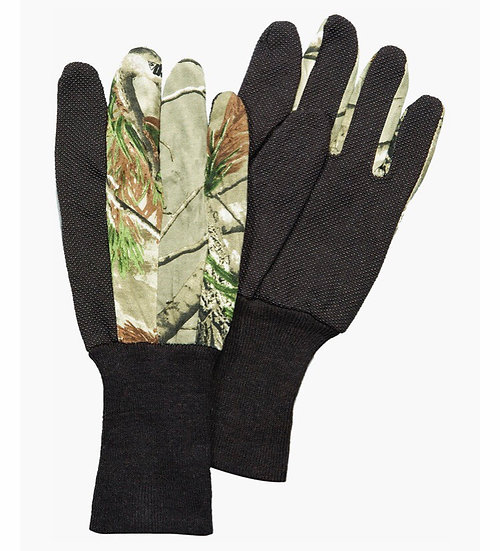 Hunters Specialties Jersey Gloves Unlined Real Tree Xtra