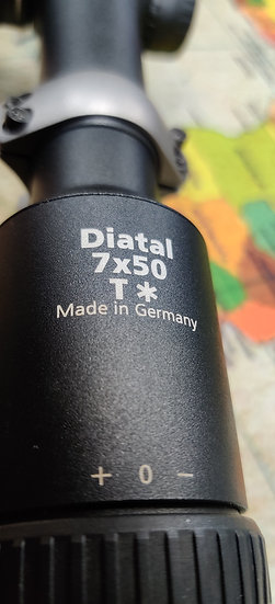 Zeiss Diatal 7x50 T* - Preowned High Quality Scope