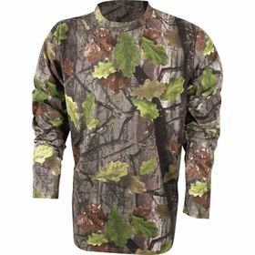 Jack Pyke Long Sleeve T-shirt English Oak Camo