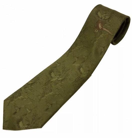 Bisley Tie Pheasant Olive Green