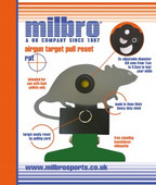 Milbro Rat Silhouette Target