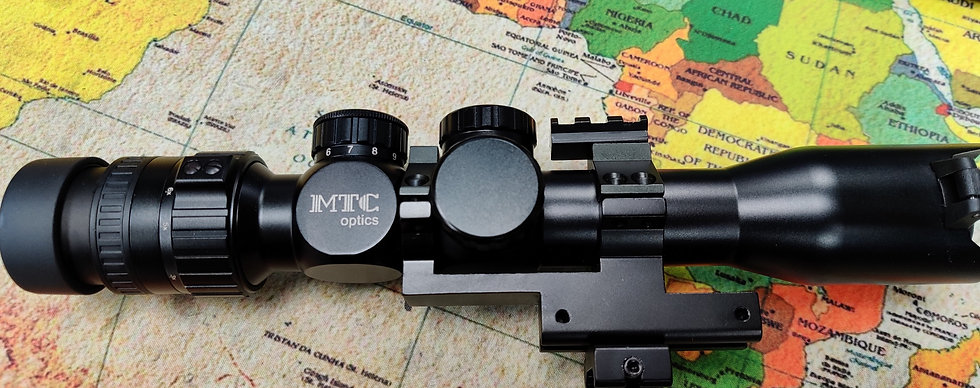 MTC Optics Viper X Series Connect 3-12x32 Scope & mounts - Preowned High Quality
