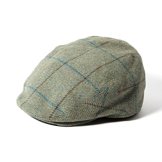 Failsworth Gamekeeper Tweed Cap in Sage