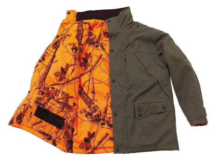 Deerhunter Reversible Green/Hi Vis Orange Hunting Jacket 5501
