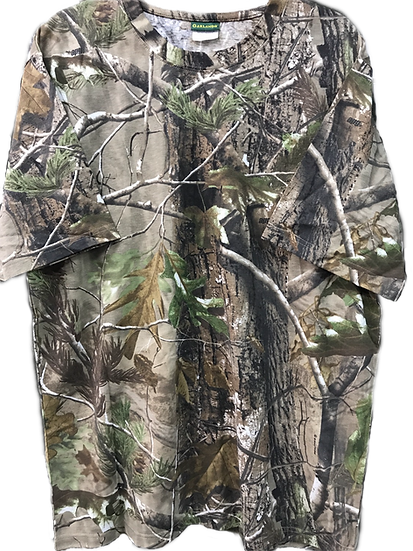 Garlands Short Sleeve T-shirt  Realtree Hardwood or APG Camo