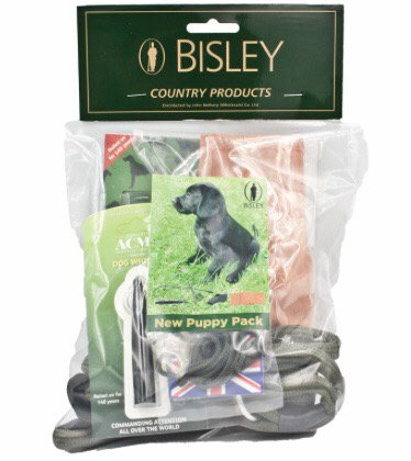 Bisley Puppy Training Pack -Lead, Dummy, Whistles & Lanyard