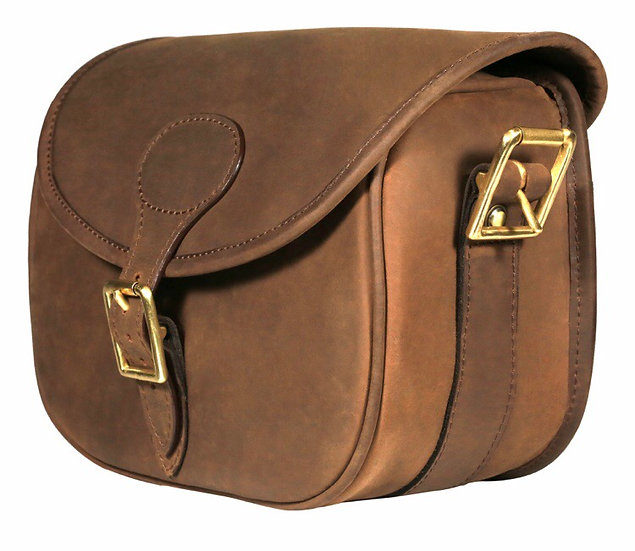 Teales Devonshire Leather Cartridge Bag
