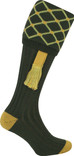 Jack Pyke Harlequin Socks With Garter