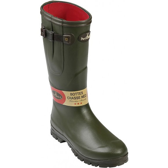 Percussion Neoprene Lined Wellington Boots