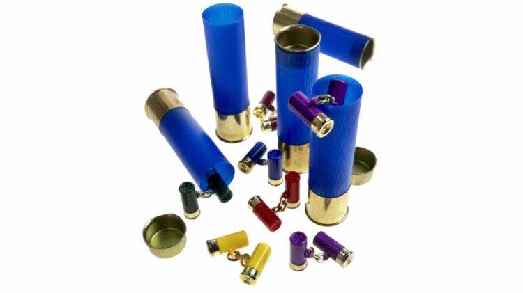 Cartridge Cufflinks Presented In a Genuine Cartridge Hunting/Shooting