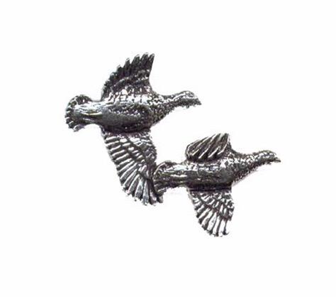 Partridge Pewter Pin