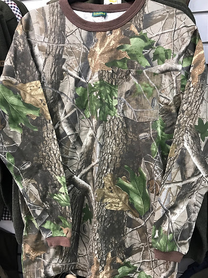 Garlands Long Sleeve T-shirt  Realtree Hardwood Camo
