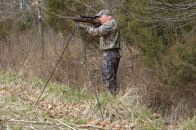 Caldwell Shooting Sticks Cross-Stick Shooting Rest Standing Model