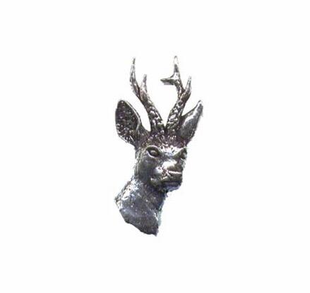Roe Deer Pewter Pin