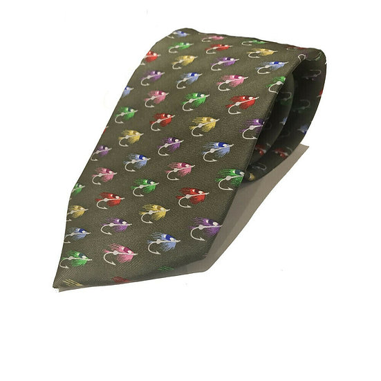 Soprano Country Silk Tie Fishing Fly