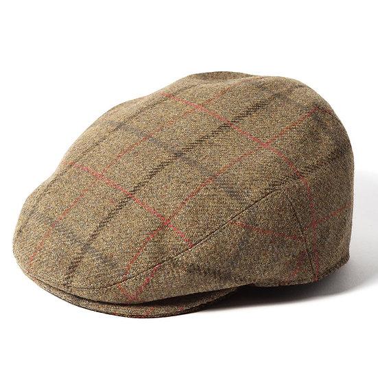 Failsworth Gamekeeper Tweed Flat Cap Hat