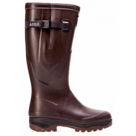 Aigle Parcours Iso 2 Neoprene Wellington Boots - Brown