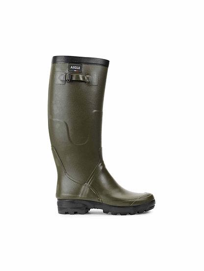 Aigle Benyl Wellington Boots - Kaki