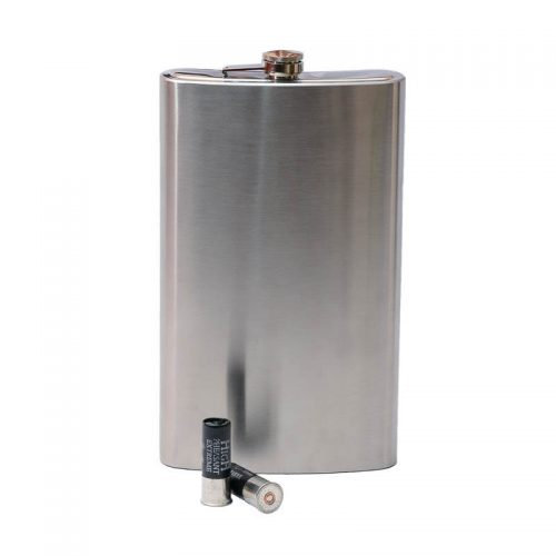 Stainless steel hip flask 64oz