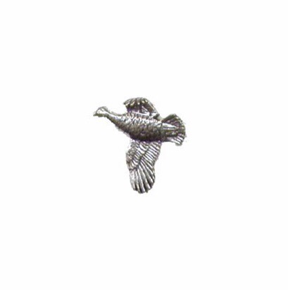 Grouse Pewter Pin
