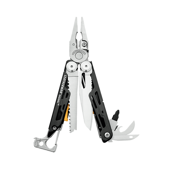 Leatherman Signal® 19-in-1 Multi-tool with Sheath Black DLC with Stainless Steel