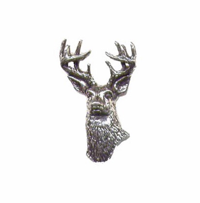 White Tailed Deer Pewter Pin