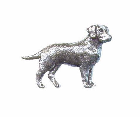Pewter Labrador pin