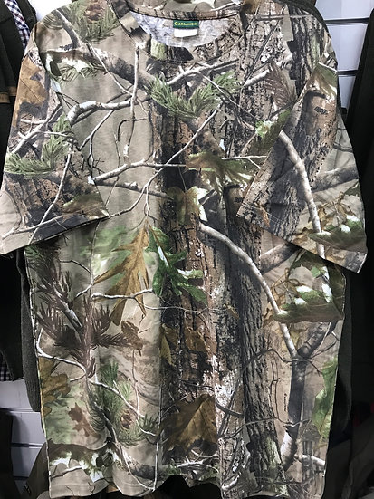 Garlands Short Sleeve T-shirt  Realtree Hardwood APG Camo