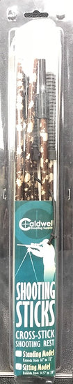 Caldwell Shooting Sticks Cross-Stick Shooting Rest Sitting Model