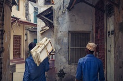 Artists in Stone Town, Zanzibar